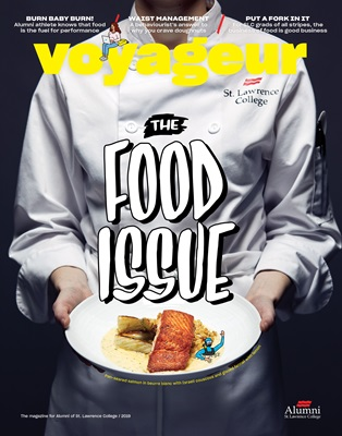 Voyageur Magazine Cover 2019