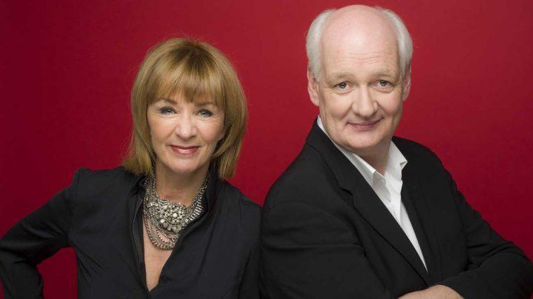 Debra McGrath and Colin Mochrie
